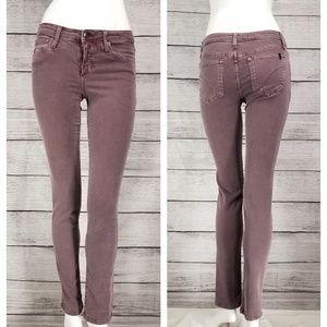 Joe's Jeans 25 The Skinny Leg in Port  Purple
